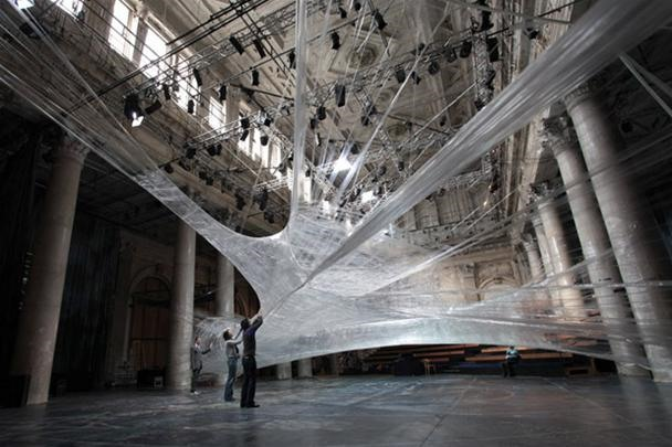 Massive Cocoons Trap Humans Like Flies in a Web