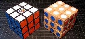 DIY Wooden Rubik's Cube