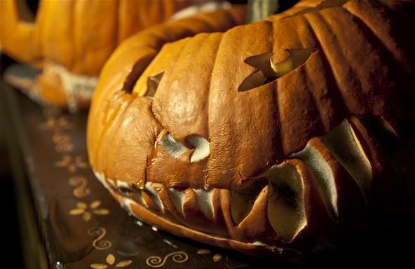 Horror Photography Challenge: Moldy Pumpkin