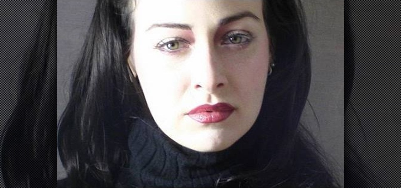 Twilight vampire makeup