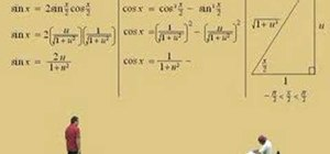 Use special substitutions in calculus II