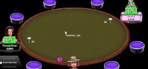 Play pocket pairs in online Texas Hold'em