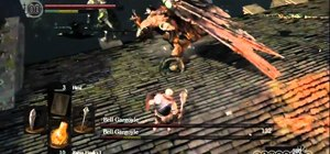 Beat the Bell Gargoyles boss fight in Dark Souls