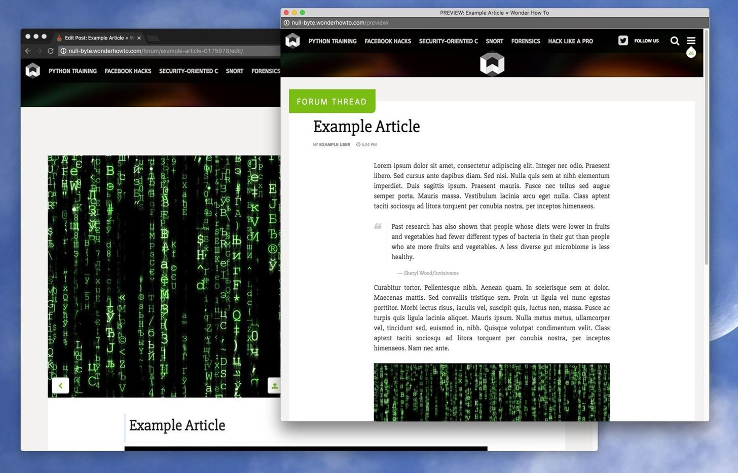 How to Write Articles or Ask Questions on WonderHowTo