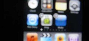 Delete apps on an iPhone or iPod Touch