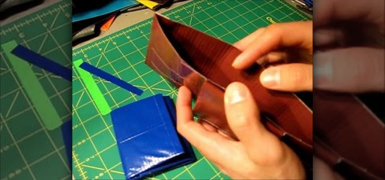 How To Make A Two In One Tri Bifold Wallet Out Of Duct