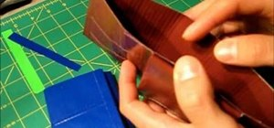 Make a two-in-one Tri-Bifold wallet out of duct tape