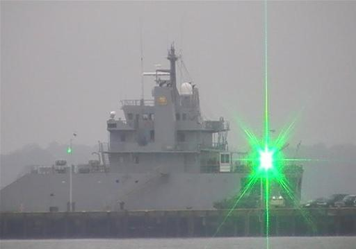 Military Laser Pointer Blinds People From 2.5 Miles Away