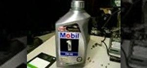 Fix a dead computer fan using motor oil