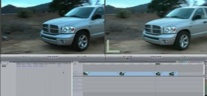 Use Match Frame in Final Cut Pro 7