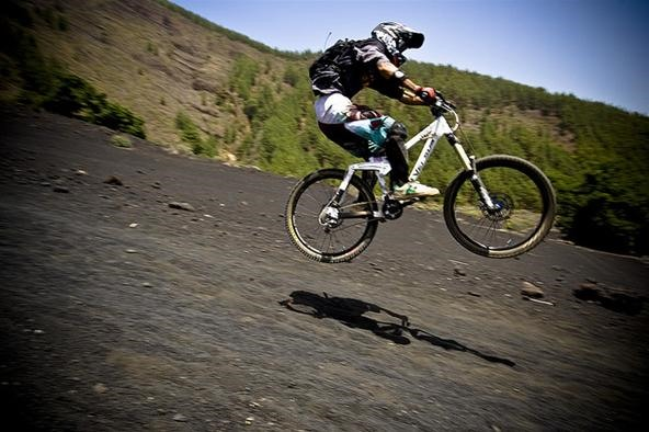 Downhill Bike Race