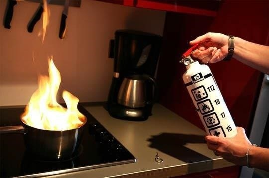 How to safely put out a grease fire and prevent them - How to put out a fireplace ...