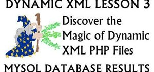 Render XML dynamically from an MySQL database with PHP