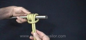 Tie an Icicle Hitch Variant knot
