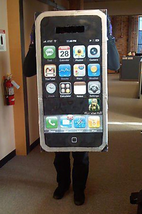 6apple iphone costume