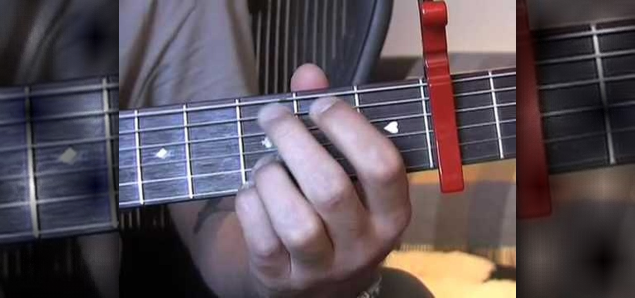 How To Play Oasis Wonderwall On Acoustic Guitar Acoustic Guitar