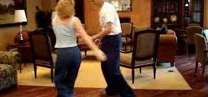 Dance the Heel-Toe Jitterbug move