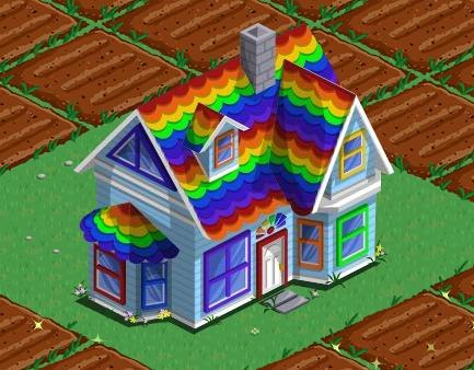 Rainbow Chickens 171 Farmville