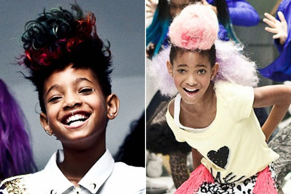 "How to Get Willow Smith's Trendsetting ""Whip My Hair"" Hairstyles"