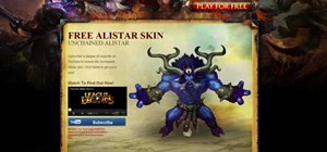 Get Alistar and his Unchained skin for free in League of Legends