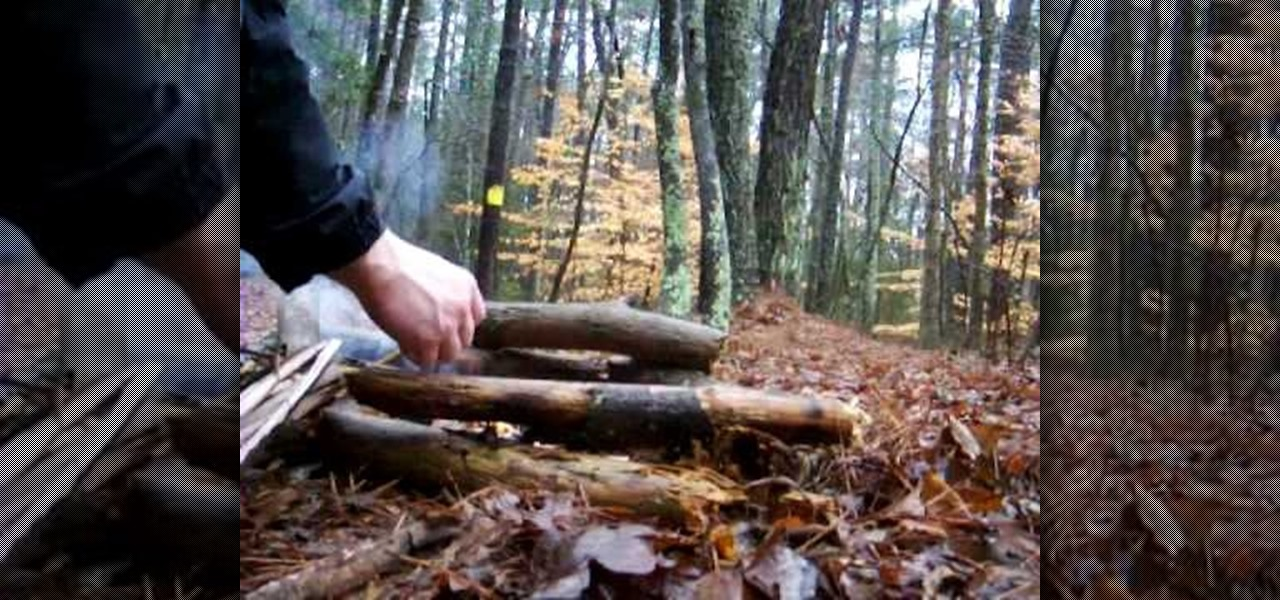 how to make a fire in the wilderness