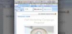 Create headers & footers in Microsoft Word: Mac 2008