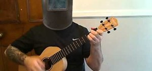 "Play ""Beautiful"" by James Blunt on baritone ukulele"