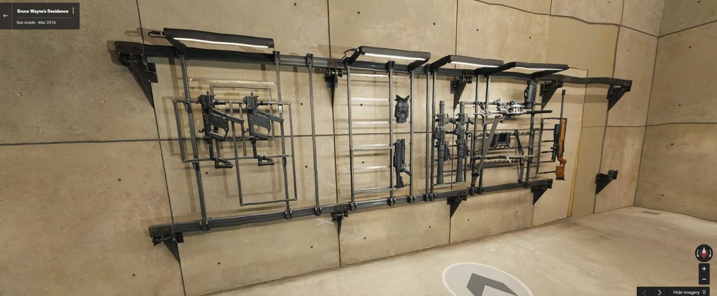 Google Has Outed the Location of the Batcave, & You Can Tour It Right Now