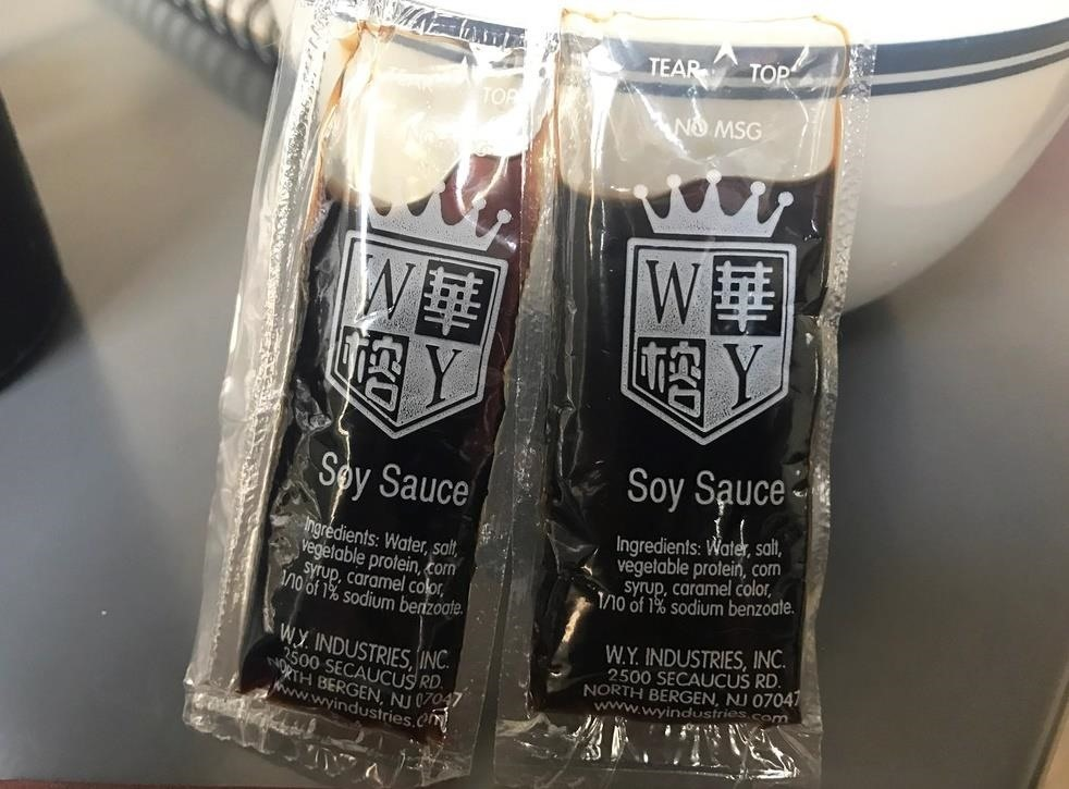 Those Soy Sauce Packets from Your Takeout Chinese Are Probably Lying to You