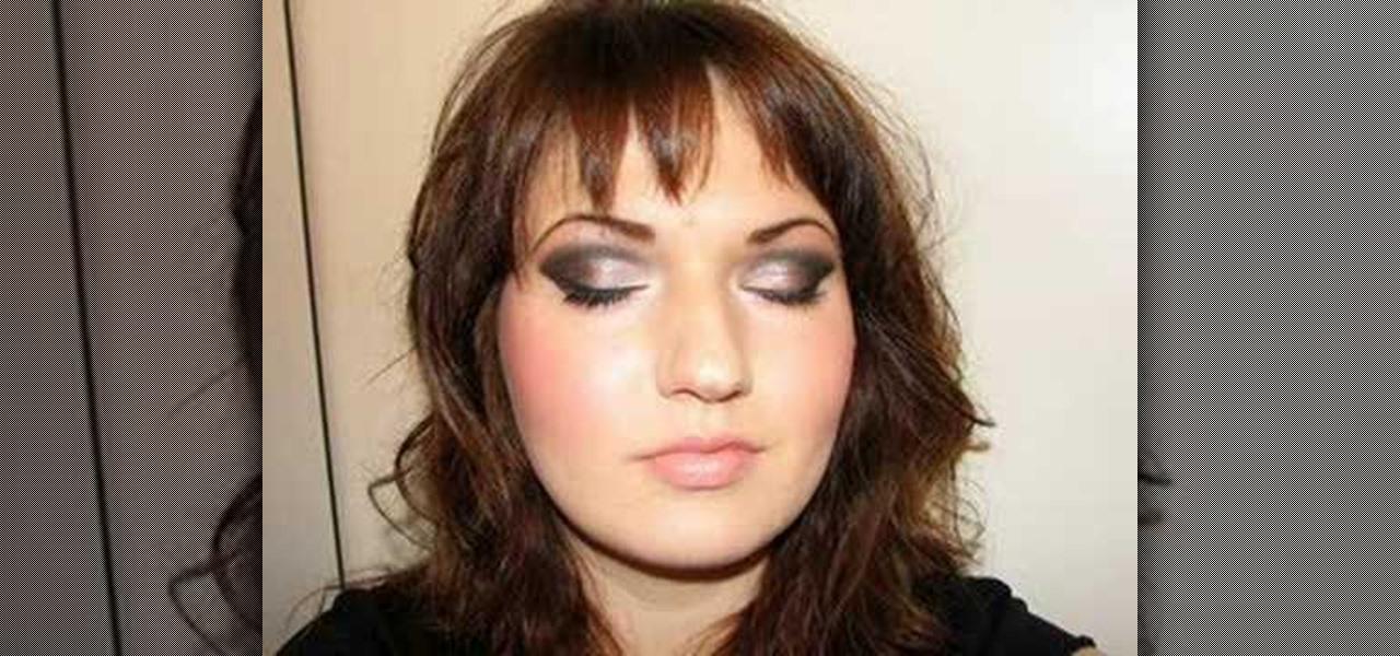 Smokey Eye Mac Makeup Look