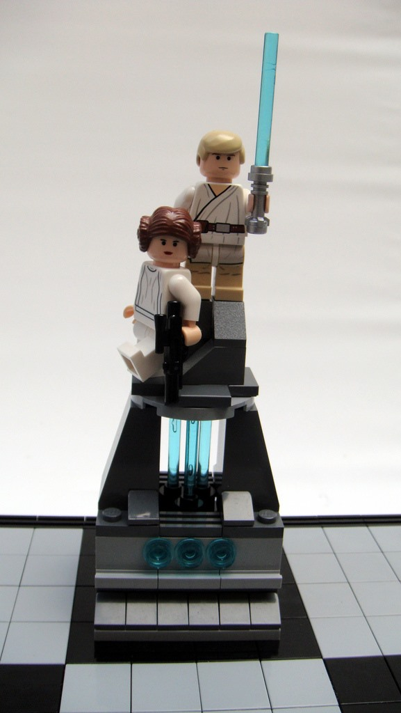 Star Wars: A New Hope LEGO Chess Set