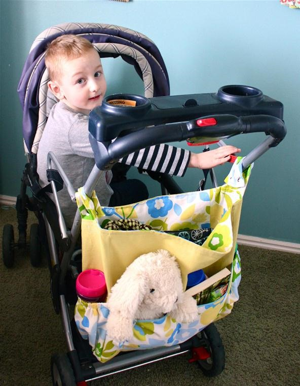 How to Sew a Stroller Bag