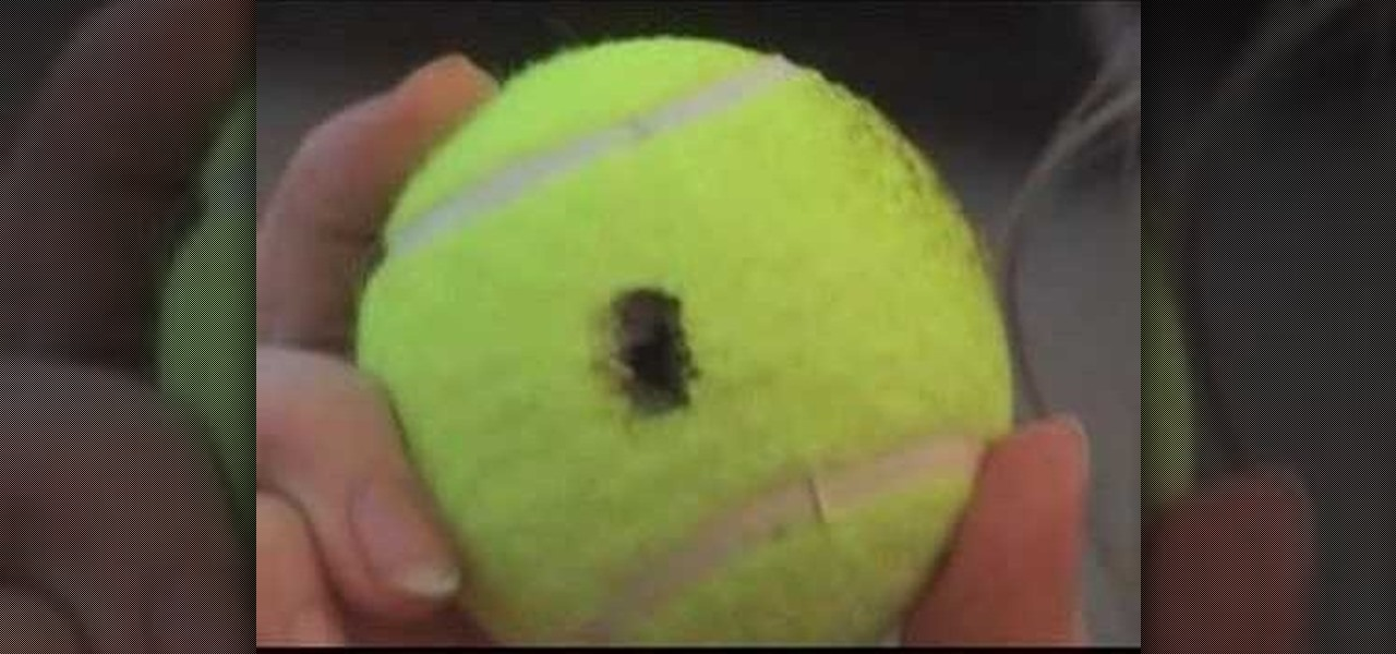 Unlock Car Doors with a Punctured Tennis Ball (Faux-To?)