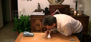 Explore Bernoulli's Principle with this simple home science trick