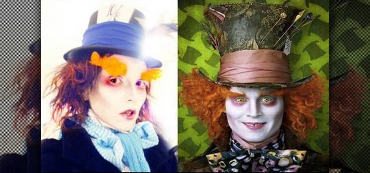 How to Apply the Mad Hatter Johnny Depp costume makeup « Makeup ...