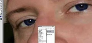Change eye color in Corel PhotoPaint X3 with masking