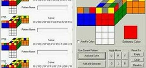 Create Rubik's Cube algorithms using Cube Explorer