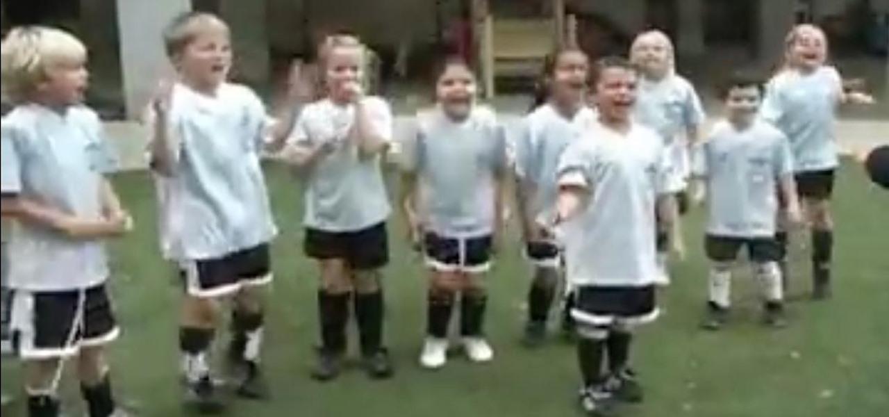 Coach an Under-6 Soccer Team
