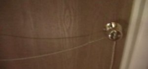Pull a door tug of war prank