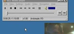 Stream DVDs to AVI with the VLC media player