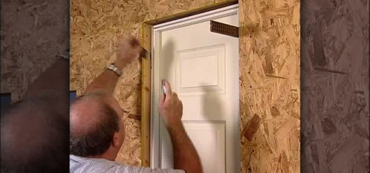 How To Install A Split Jamb Door Construction Repair