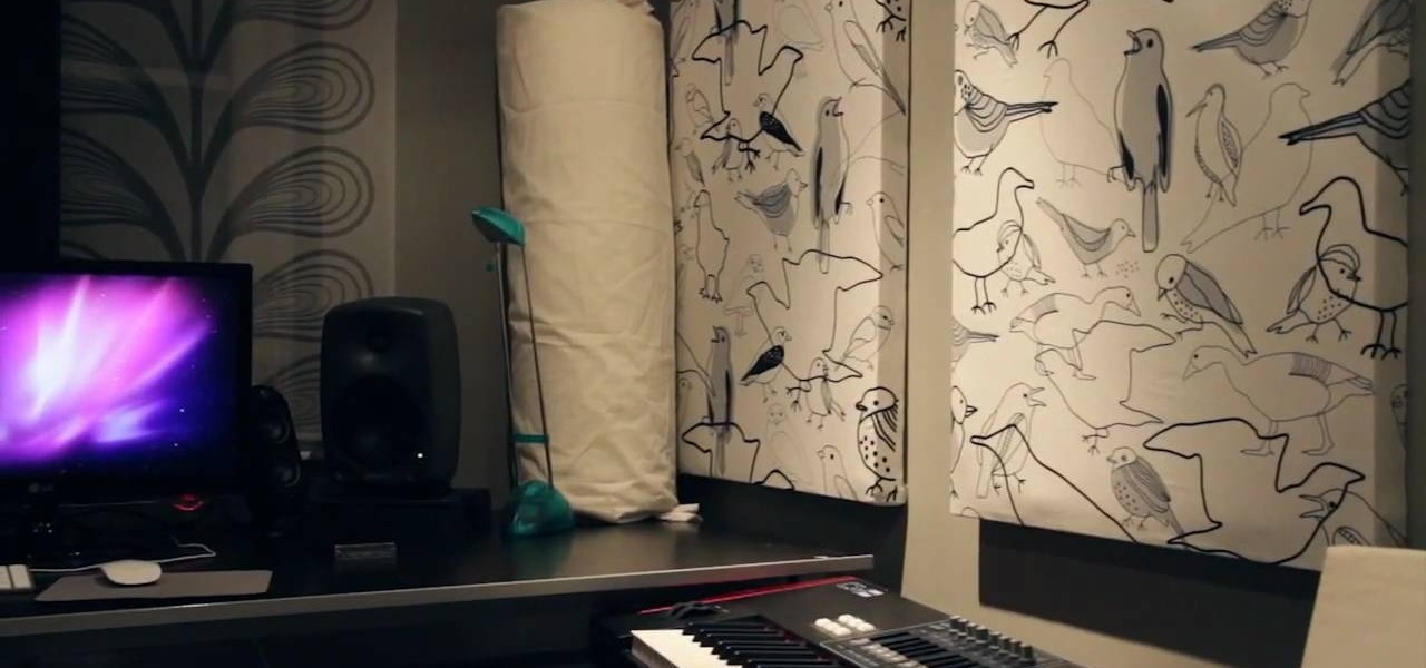 How To Make Diy Broadband Acoustic Panels Or Bass Traps