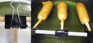 Build a Corn Dog Rig for Easy Deep Frying