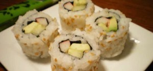 Prepare California Roll Sushi