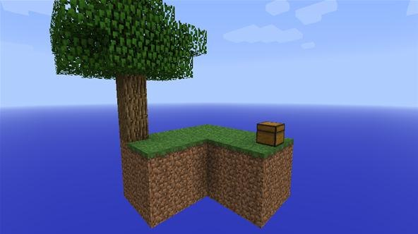 minecraft pe skyblock download