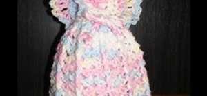 Crochet a left handed air freshener angel cover