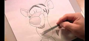 Draw Tigger from Winnie the Pooh