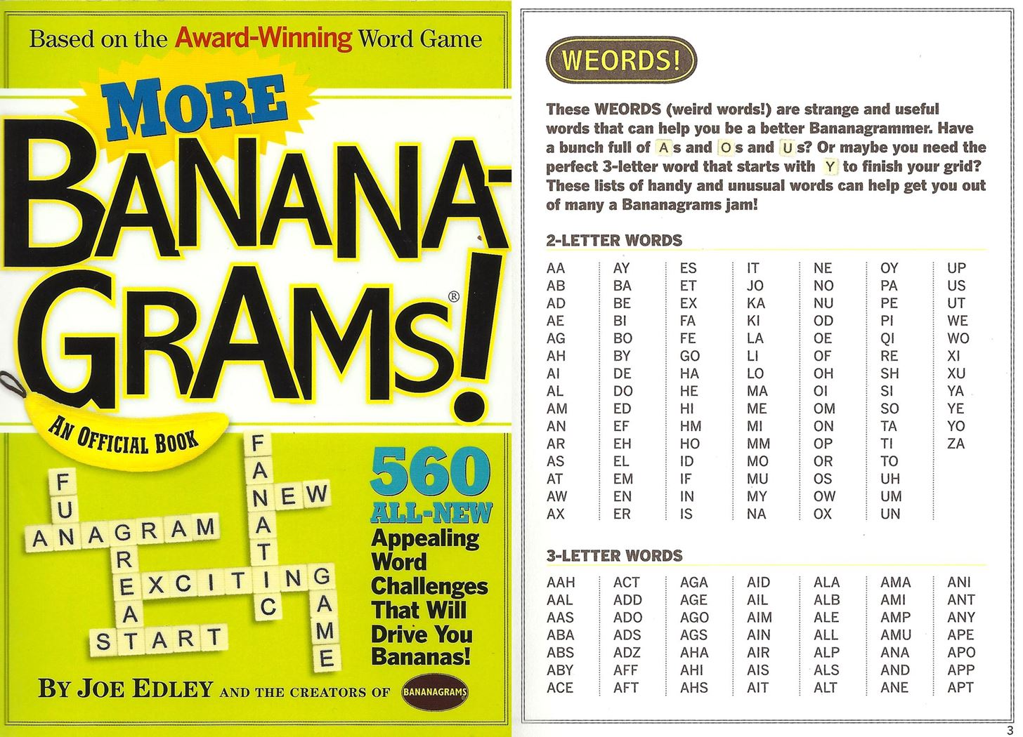 Worksheets Three Letters Words how to play and win bananagrams scrabbles addictive fast step 3 other words master