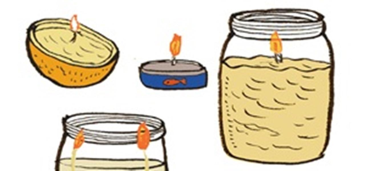 4 Crafty Ways To DIY An Emergency Oil Lamp « The Secret Yumiverse ::  WonderHowTo