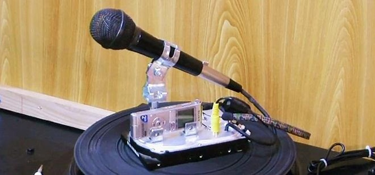 Dynamic Microphone Make : how to make a dynamic mic and sound recorder stand from an old hard drive hacks mods circuitry ~ Hamham.info Haus und Dekorationen